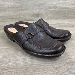 Clark's Artisan Collection Brown Mules Size 10 M